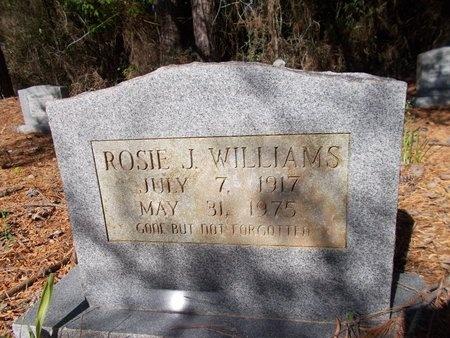 WILLIAMS, ROSIE J - Bossier County, Louisiana   ROSIE J WILLIAMS - Louisiana Gravestone Photos
