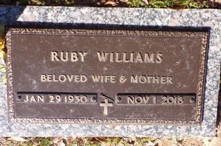 WILLIAMS, RUBY - Bossier County, Louisiana | RUBY WILLIAMS - Louisiana Gravestone Photos