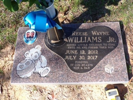 WILLIAMS, REESE WAYNE, JR - Bossier County, Louisiana | REESE WAYNE, JR WILLIAMS - Louisiana Gravestone Photos