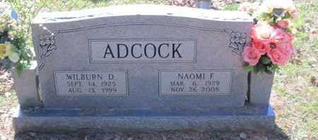 ADCOCK, WILBURN D - Caddo County, Louisiana | WILBURN D ADCOCK - Louisiana Gravestone Photos