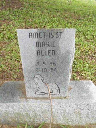ALLEN, AMETHYST MARIE - Caddo County, Louisiana | AMETHYST MARIE ALLEN - Louisiana Gravestone Photos