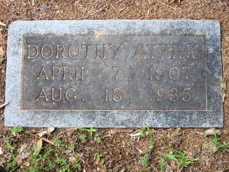 ATKINS, DOROTHY - Caddo County, Louisiana   DOROTHY ATKINS - Louisiana Gravestone Photos