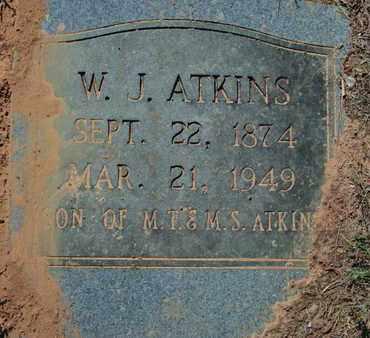 ATKINS, WILLIAM JASPER - Caddo County, Louisiana | WILLIAM JASPER ATKINS - Louisiana Gravestone Photos