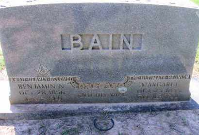 BAIN, MARGARET - Caddo County, Louisiana | MARGARET BAIN - Louisiana Gravestone Photos
