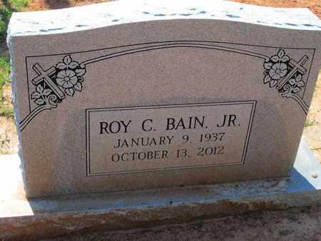 BAIN, ROY C, JR - Caddo County, Louisiana | ROY C, JR BAIN - Louisiana Gravestone Photos