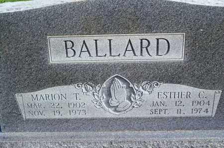 BALLARD, ESTHER C - Caddo County, Louisiana | ESTHER C BALLARD - Louisiana Gravestone Photos