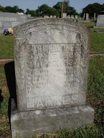 BARNES, EARL - Caddo County, Louisiana | EARL BARNES - Louisiana Gravestone Photos