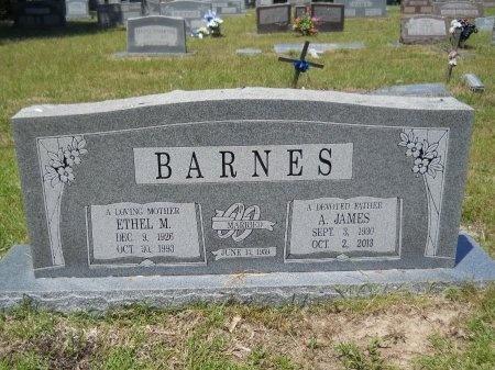 BARNES, ETHEL M - Caddo County, Louisiana | ETHEL M BARNES - Louisiana Gravestone Photos