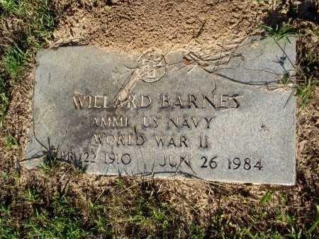 BARNES , WILLARD (VETERAN WWII) - Caddo County, Louisiana   WILLARD (VETERAN WWII) BARNES  - Louisiana Gravestone Photos