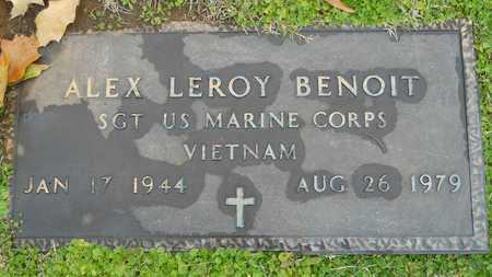 BENOIT, ALEX LEROY (VETERAN VIET) - Caddo County, Louisiana | ALEX LEROY (VETERAN VIET) BENOIT - Louisiana Gravestone Photos