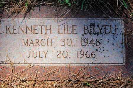 BILYEU, KENNETH LILE - Caddo County, Louisiana | KENNETH LILE BILYEU - Louisiana Gravestone Photos