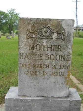 BOONE, HATTIE - Caddo County, Louisiana | HATTIE BOONE - Louisiana Gravestone Photos