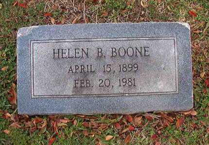 BOONE, HELEN B - Caddo County, Louisiana | HELEN B BOONE - Louisiana Gravestone Photos