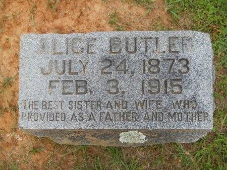 BUTLER, ALICE - Caddo County, Louisiana | ALICE BUTLER - Louisiana Gravestone Photos