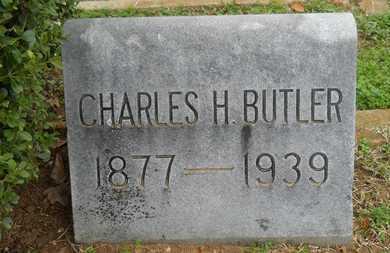 BUTLER, CHARLES H - Caddo County, Louisiana | CHARLES H BUTLER - Louisiana Gravestone Photos