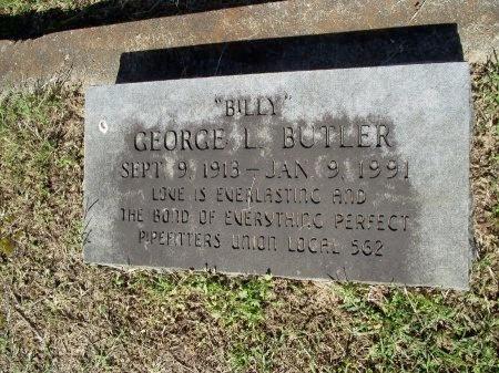 "BUTLER, GEORGE LOUIS ""BILLY"" - Caddo County, Louisiana | GEORGE LOUIS ""BILLY"" BUTLER - Louisiana Gravestone Photos"