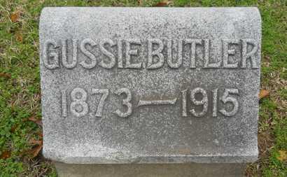 BUTLER, GUSSIE - Caddo County, Louisiana | GUSSIE BUTLER - Louisiana Gravestone Photos