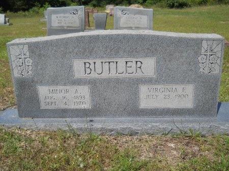 BUTLER, VIRGINIA E - Caddo County, Louisiana | VIRGINIA E BUTLER - Louisiana Gravestone Photos
