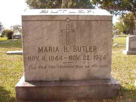 BUTLER, MARIA B - Caddo County, Louisiana | MARIA B BUTLER - Louisiana Gravestone Photos
