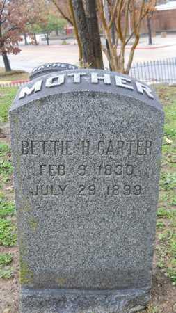 CARTER, BETTIE H - Caddo County, Louisiana | BETTIE H CARTER - Louisiana Gravestone Photos