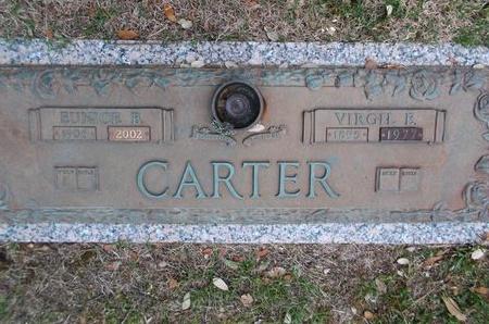 CARTER, VIRGIL E - Caddo County, Louisiana | VIRGIL E CARTER - Louisiana Gravestone Photos