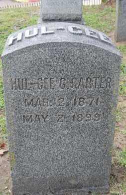 CARTER, HUL-GEE G - Caddo County, Louisiana | HUL-GEE G CARTER - Louisiana Gravestone Photos