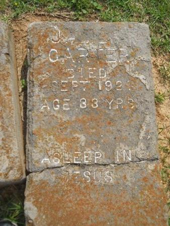 CARTER, JAMES - Caddo County, Louisiana | JAMES CARTER - Louisiana Gravestone Photos