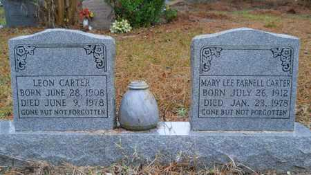 FEARNELL CARTER, MARY LEE - Caddo County, Louisiana | MARY LEE FEARNELL CARTER - Louisiana Gravestone Photos
