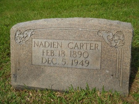 CARTER, NADIEN - Caddo County, Louisiana | NADIEN CARTER - Louisiana Gravestone Photos