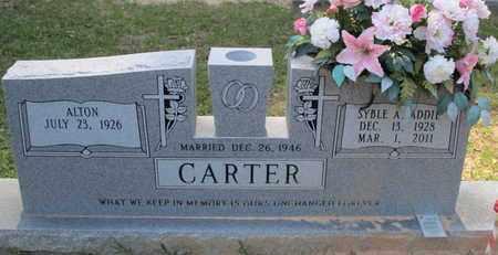 CARTER, SYBLE A - Caddo County, Louisiana   SYBLE A CARTER - Louisiana Gravestone Photos