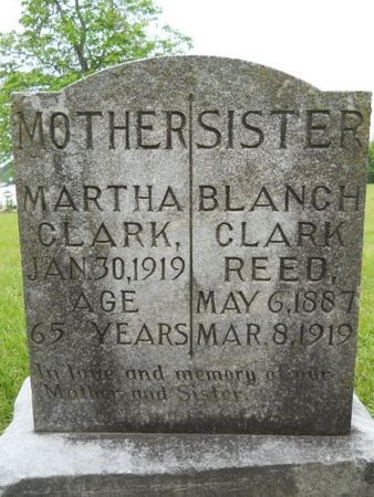 CLARK REED, BLANCH - Caddo County, Louisiana | BLANCH CLARK REED - Louisiana Gravestone Photos