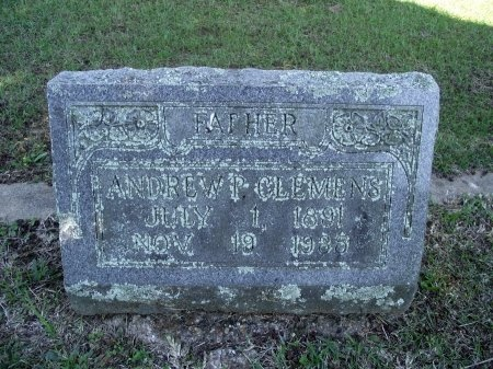 CLEMENS, ANDREW P - Caddo County, Louisiana   ANDREW P CLEMENS - Louisiana Gravestone Photos
