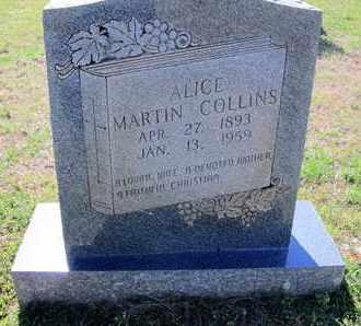 COLLINS, ALICE - Caddo County, Louisiana   ALICE COLLINS - Louisiana Gravestone Photos
