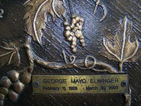 ELWINGER, GEORGE MAYO - Caddo County, Louisiana   GEORGE MAYO ELWINGER - Louisiana Gravestone Photos