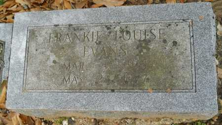 EVANS, FRANKIE LOUISE - Caddo County, Louisiana | FRANKIE LOUISE EVANS - Louisiana Gravestone Photos