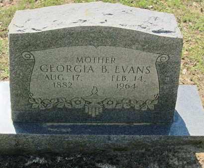 EVANS, GEORGIA - Caddo County, Louisiana | GEORGIA EVANS - Louisiana Gravestone Photos