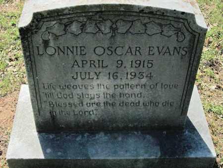 EVANS, LONNIE OSCAR - Caddo County, Louisiana | LONNIE OSCAR EVANS - Louisiana Gravestone Photos