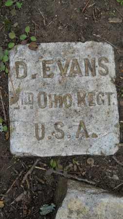 EVANS, D (VETERAN UNION) - Caddo County, Louisiana | D (VETERAN UNION) EVANS - Louisiana Gravestone Photos