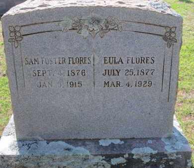 FLORES, SAM FOSTER - Caddo County, Louisiana   SAM FOSTER FLORES - Louisiana Gravestone Photos