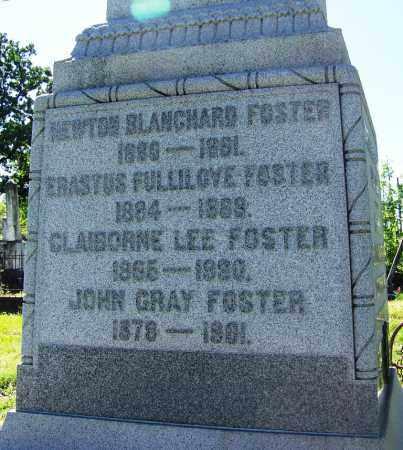 FOSTER, CLAIBORNE LEE - Caddo County, Louisiana   CLAIBORNE LEE FOSTER - Louisiana Gravestone Photos