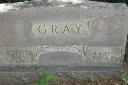 GRAY, MURIEL F - Caddo County, Louisiana | MURIEL F GRAY - Louisiana Gravestone Photos