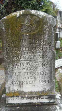 BUCKNER, MARY - Caddo County, Louisiana | MARY BUCKNER - Louisiana Gravestone Photos
