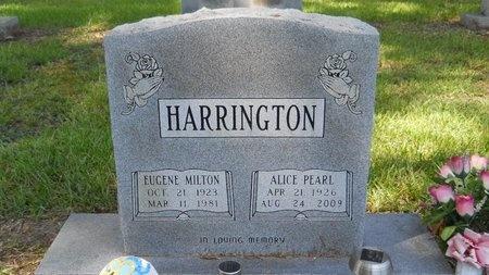 HARRINGTON, ALICE PEARL - Caddo County, Louisiana | ALICE PEARL HARRINGTON - Louisiana Gravestone Photos