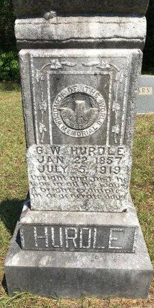 HURDLE, G W - Caddo County, Louisiana   G W HURDLE - Louisiana Gravestone Photos
