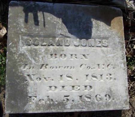 JONES, ROLAND (BIO)  (FAMOUS) - Caddo County, Louisiana | ROLAND (BIO)  (FAMOUS) JONES - Louisiana Gravestone Photos