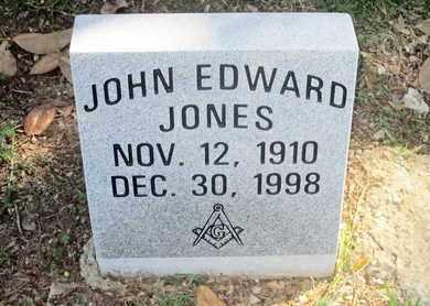 JONES, JOHN EDWARD - Caddo County, Louisiana | JOHN EDWARD JONES - Louisiana Gravestone Photos