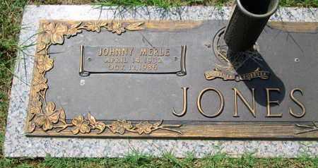 JONES, JOHNNY MERLE - Caddo County, Louisiana   JOHNNY MERLE JONES - Louisiana Gravestone Photos