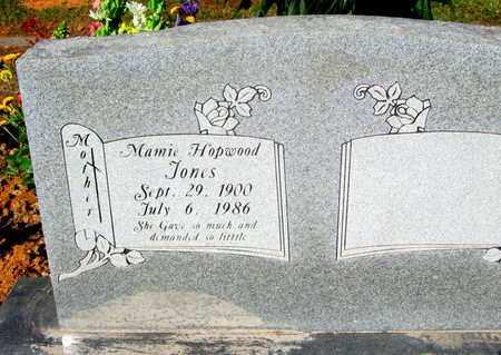 JONES, MAMIE HOPWOOD - Caddo County, Louisiana   MAMIE HOPWOOD JONES - Louisiana Gravestone Photos
