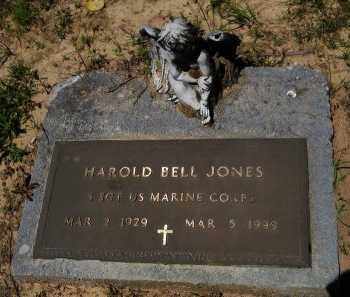 JONES, HAROLD BELL (VETERAN) - Caddo County, Louisiana | HAROLD BELL (VETERAN) JONES - Louisiana Gravestone Photos