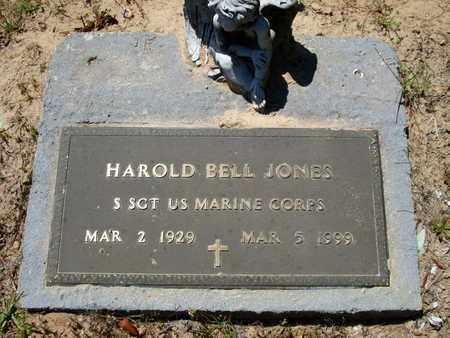 JONES, HAROLD BELL (VETERAN) - Caddo County, Louisiana   HAROLD BELL (VETERAN) JONES - Louisiana Gravestone Photos